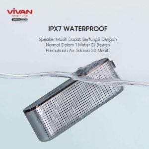 Speaker Bluetooth Vivan VS10 IPX7...