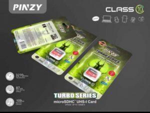 Memory MMC Pinzy Original Class10 (Garansi Life Time)