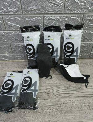 Masker Careion KF94 Black (1Bungkus=10pcs)