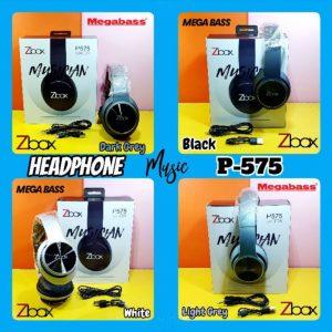 Headphone Bluetooth Zbox P575