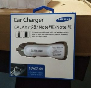 Saver Samsung 15W 2,4A 2 USB LED
