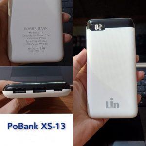 Powerbank Slim Lin XS-13 10.000mah Digital (Real Capacity)