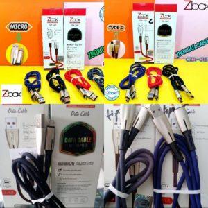 Kabel Data Zbox CZA-015 3,4A Qualcomm...