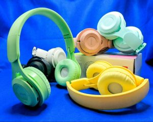 Headphone Bluetooth Macaron